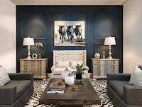 35 Inspirasi Interior Ruang Tamu Minimalis Modern