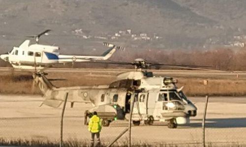 Λιγότερο από δεκαπέντε λεπτά χρειάστηκε το στρατιωτικό ελικόπτερο που απογειώθηκε από το αεροδρόμιο των Ιωαννίνων να προσεγγίσει το σημείο που είχε υποδείξει το πλήρωμα του Καναντέρ και να επιβεβαιώσει ότι πρόκειται για το εκπαιδευτικό αεροσκάφος που αγνοείται από το μεσημέρι της Κυριακής.