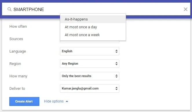 What is Google Alerts and How to use it