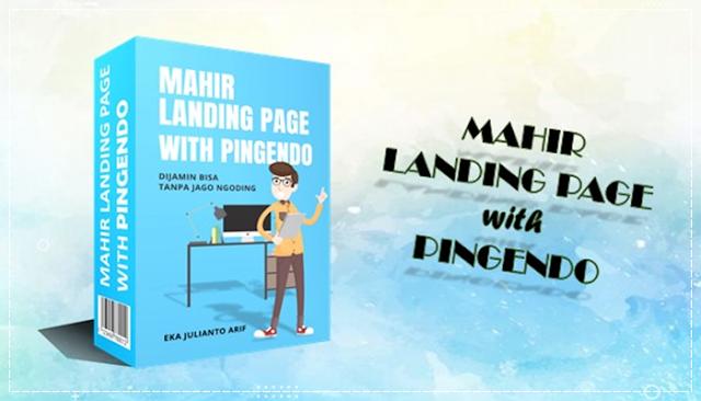 Mahir Landing Page with Pingendo