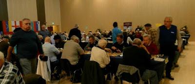 World Senior Chess Championship 2015, sala de juego
