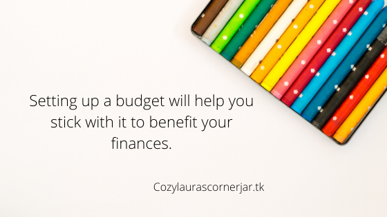 How to create a budget, that is realiistic that you are able to understand.