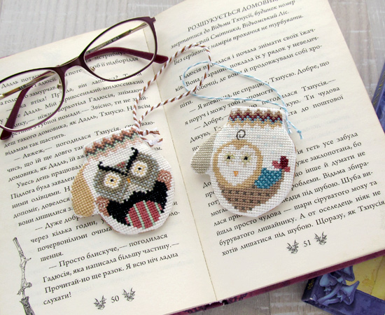 Cricket Collection, Owls, совы, embroidery