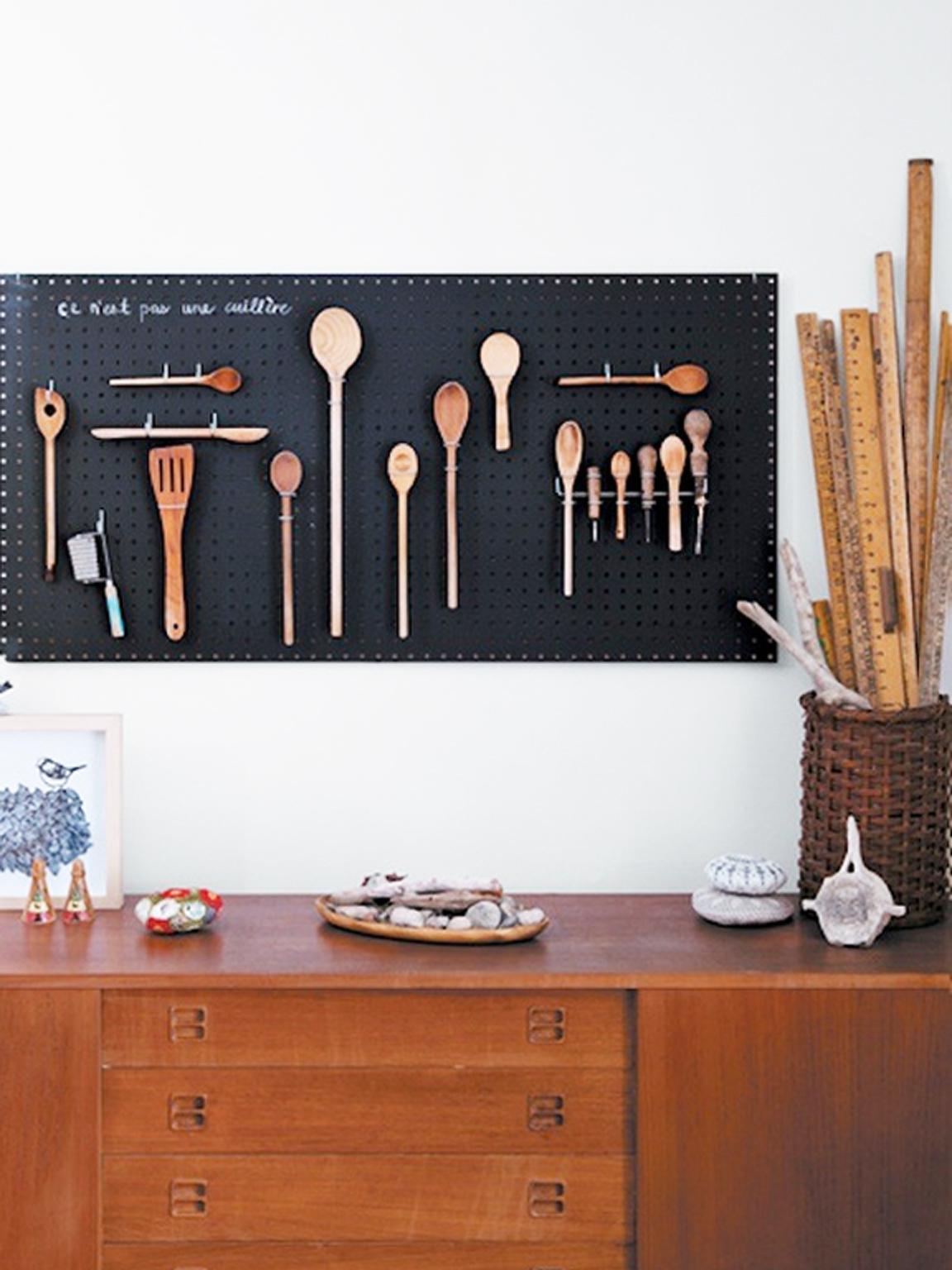 Muurdecoratie Keuken Bestek.Keuken Wanddecoratie Magneetbehang Met Dierenprint Lady Lemonade