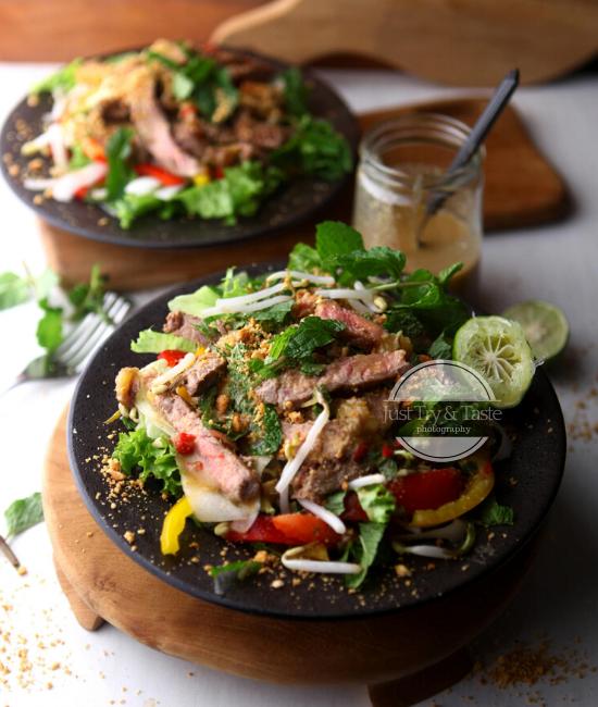 Resep Vietnamese Beef Salad