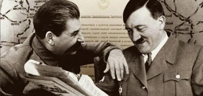 Встреча Сталина и Гитлера во Львове