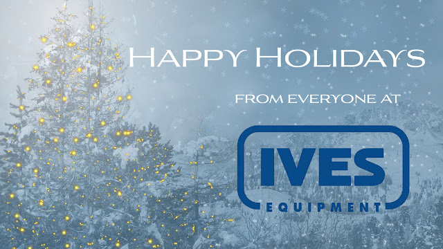 Happy Holidays from Ives Equipment