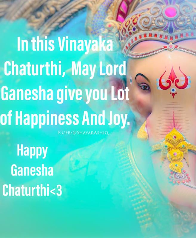 [2nd September 2019] Ganesha Chaturthi Quotes English Font