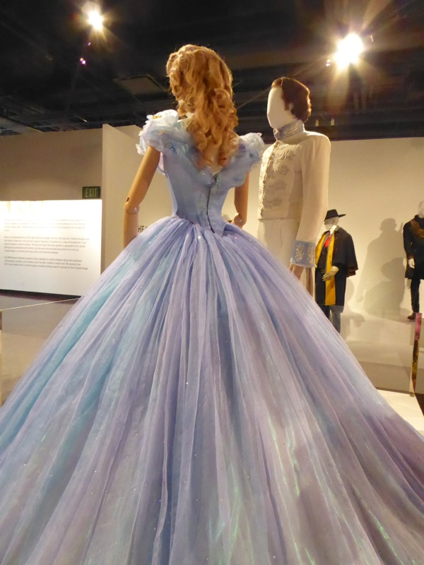 Cinderella Royal Ball gown back