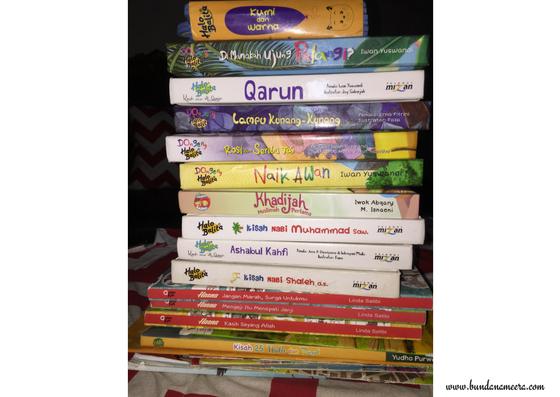 koleksi buku anak