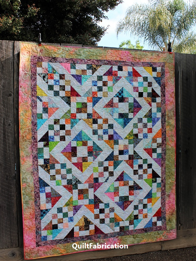 Batik Scrap by QuiltFabrication