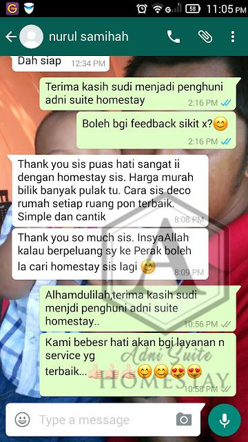 Homestay Seri Manjung Lumut - Review || Puan Samihah