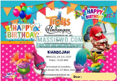 desain undangan ulang tahun