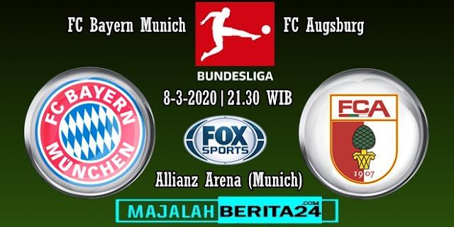 Prediksi Bayern Munich vs Augsburg