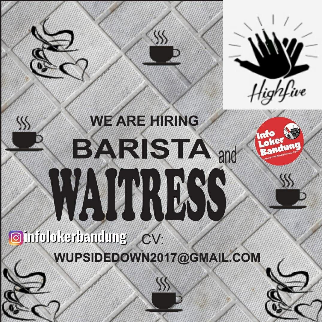 Lowongan Kerja Highfive Kitchen and Bar Bandung Januari 2020
