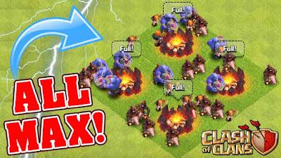 Cara Mengalahkan Town Hall 11 War Clash of Clans dengan Bowler