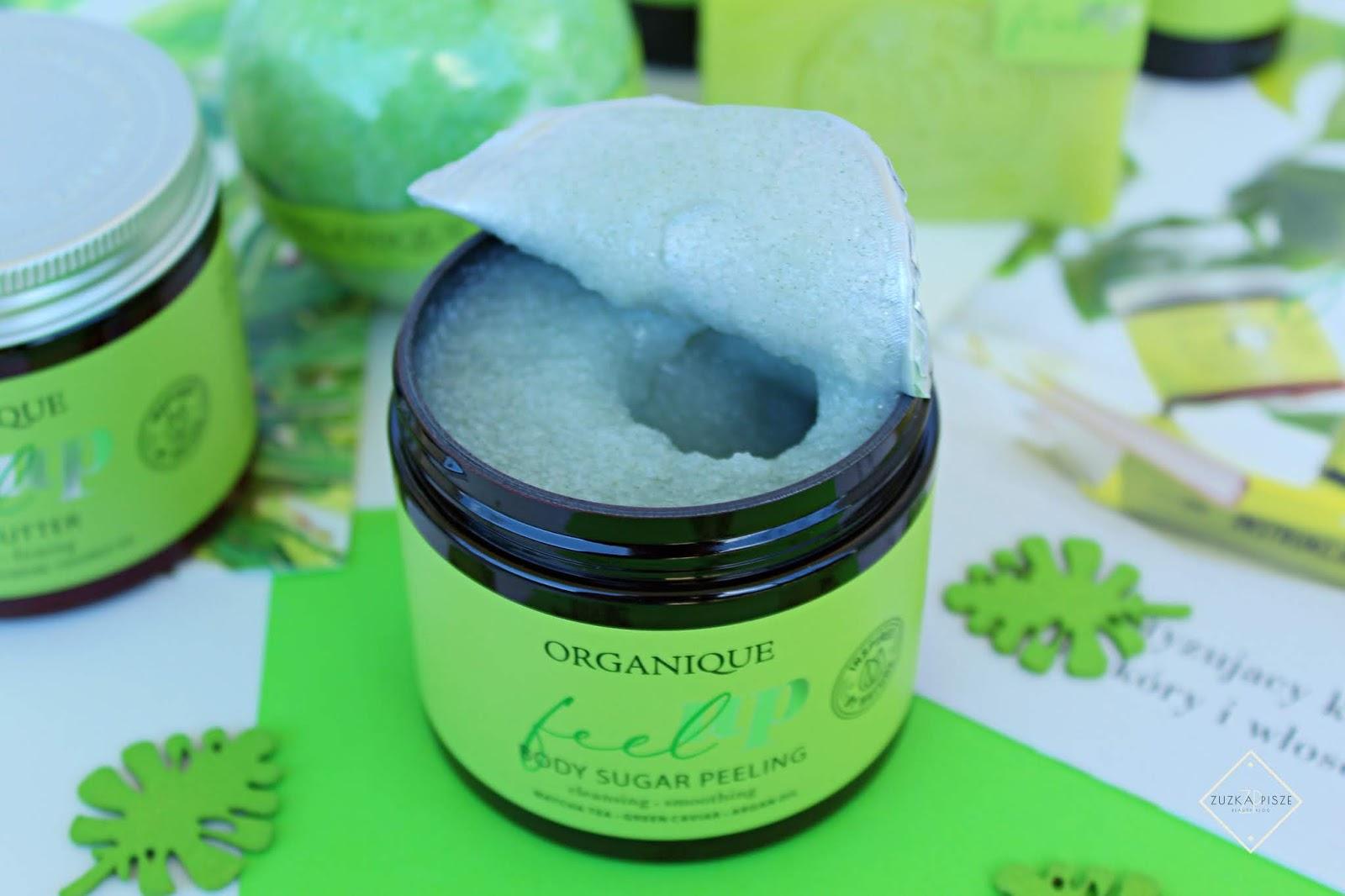Oczyszczający peeling cukrowy do ciała Feel Up  organique