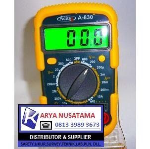 Jual Multimeter Aditeg A-830L Original di Makasar