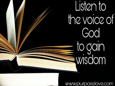 Listen to the Voice of God to Gain Wisdom