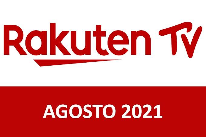 Novedades y Estrenos de Rakuten TV España Agosto 2021