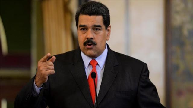 """Maduro denuncia que ser candidato en Colombia """"es un riesgo"""""""