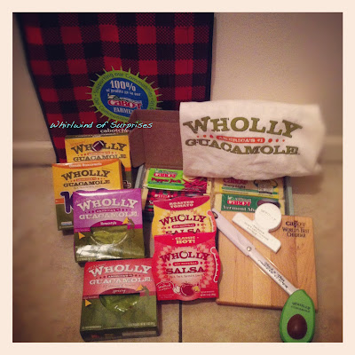 Wholly Guacamole, Cabot Cheese Prize Pack