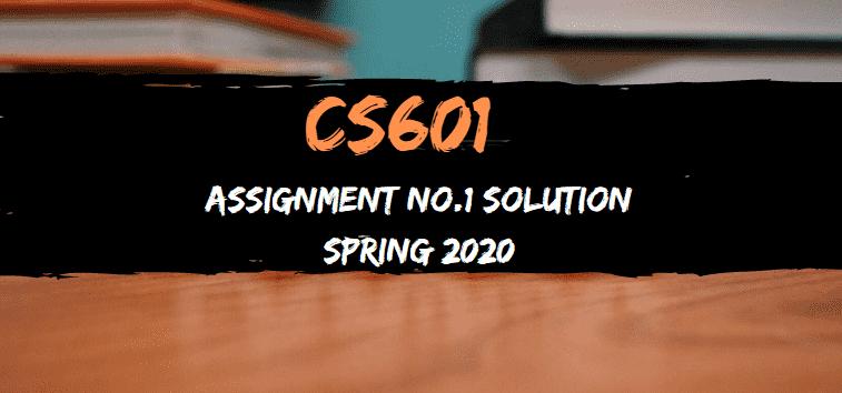 CS601