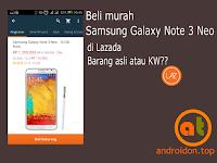 Beli murah Galaxy Note 3 Neo di Lazada