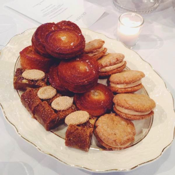 Desserts from Beaucoup Bakery at Vancouver boutique Oliver + Lilly's fall 2014 media preview