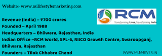 RCM india, rcm business