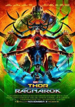 Thor Ragnarok (2017) BRRip 720p Dual Audio In Hindi English