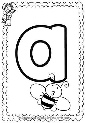 A E I O U Las Vocales Para Imprimir Imágenes Y Dibujos Para