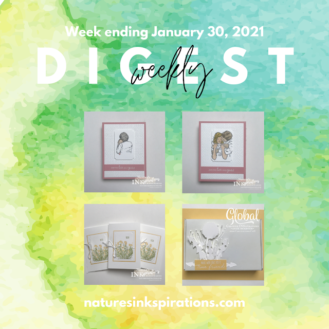 Weekly Digest No. 2 | Week ending January 30, 2021 | Nature's INKspirations by Angie McKenzie