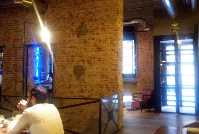 Sala, restaurante Dstage