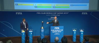 قرعة كأس العالم للأندية 2019