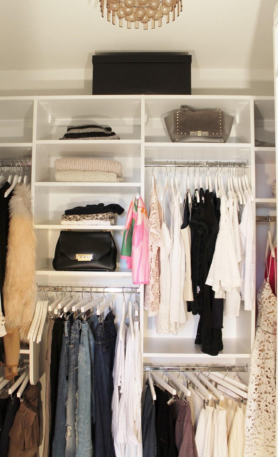 DUVALs Tips For An Organized Closet