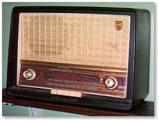 old wireless radio