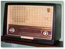 old wireless radio