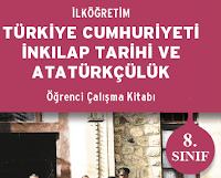 8. Sınıf Top Yayınları İnkılap Çalışma Kitabı Cevapları.