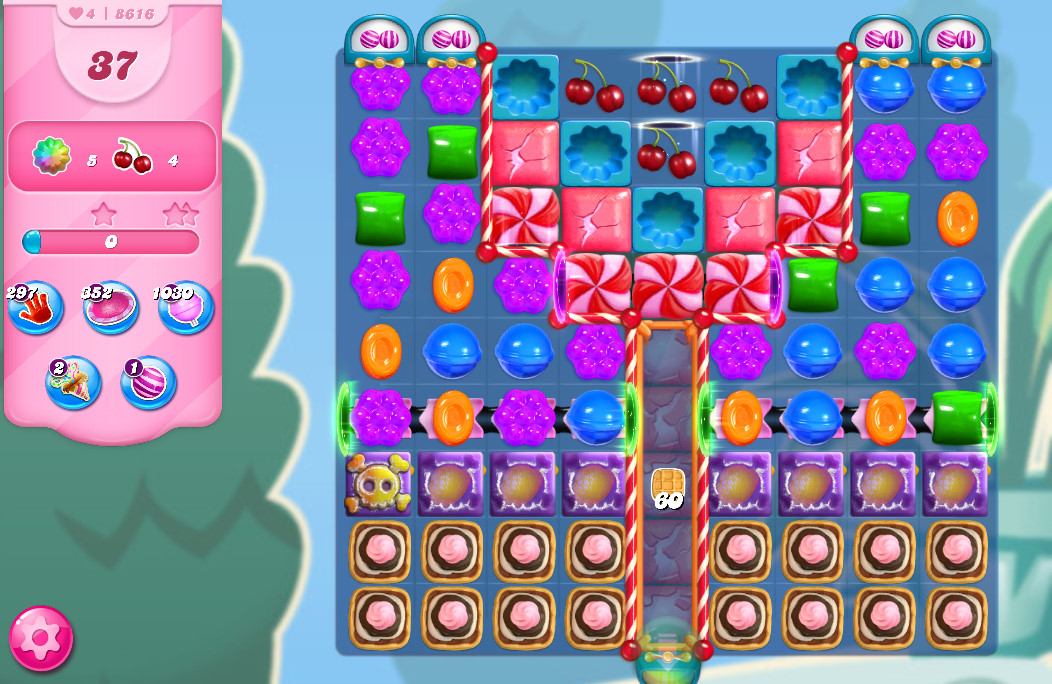 Candy Crush Saga level 8616