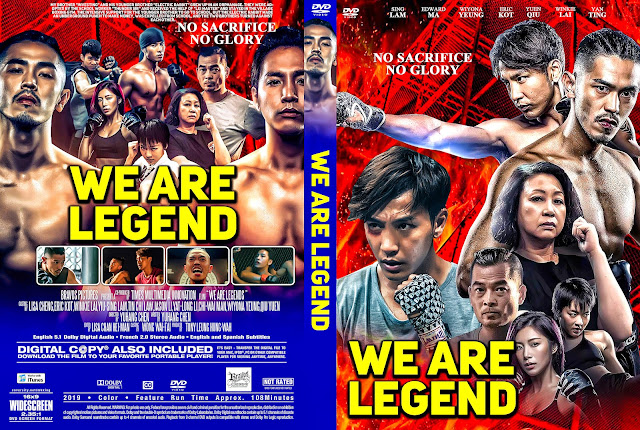 We Are Legends DVD Cover