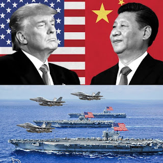 China responds after US deployed 3 Navy aircraft carriers to the Pacific Ocean as tensions between both countries escalate