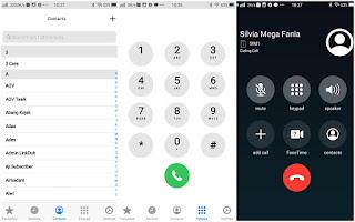 Cara Mengubah Tampilan Kontak dan Panggilan Android Menjadi Iphone