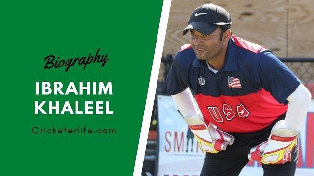 Ibrahim Khaleel cricketer Profile, age, height, stats, wife, etc.