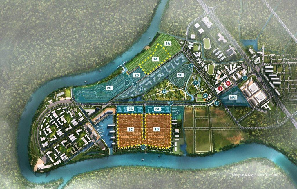 Mặt bằng thiết kế dự án Waterpoint Bến Lức Long An