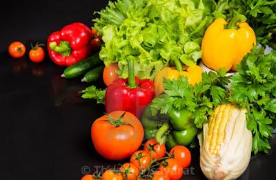 cosechas de alimentos orgánicos