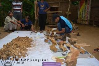 Fosil binatang ribuan tahun lalu ditemukan di Gua Nguwik Purworejo