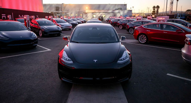 Electric Vehicles, Elon Musk, Reports, Tech, Tesla, Tesla Model 3