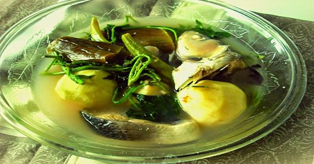 Sinigang Na Bangus Sa Bayabas (Stewed Milkfish In Guava) Recipe