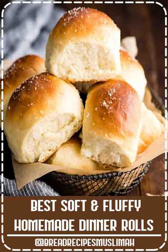 Best Soft & Fluffy Homemade Dinner Rolls